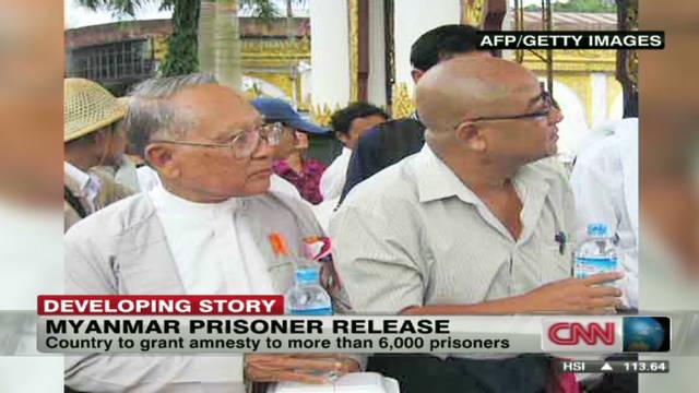 Myanmar to release prisoners