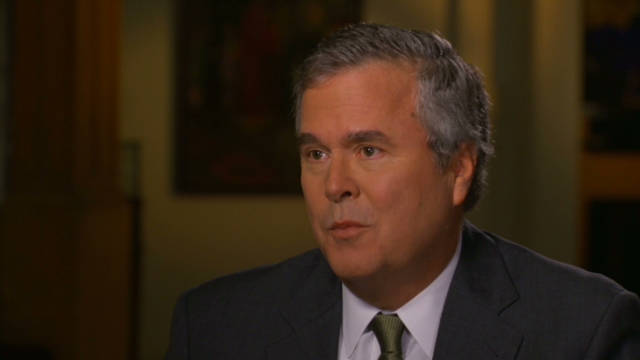 Gov. Jeb Bush impressed by Romney