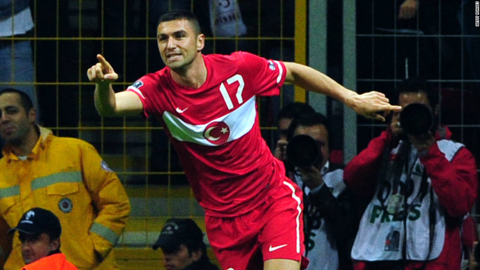 Turkey were the surprise package of the last European Championship four years ago, reaching the semifinals in Austria and Switzerland. Guus Hiddink's team secured their playoff berth with a 1-0 victory over Azerbaijan in Istanbul.