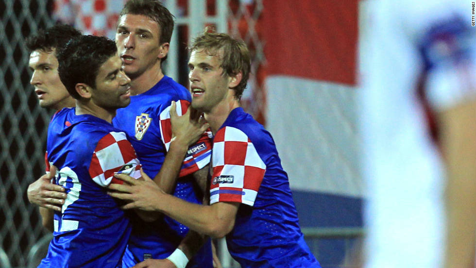 Croatia were already assured of their place in the playoffs before Tuesday's 2-0 win over Latvia. Slavan Bilic's team, who reached the quarterfinals of 2008, are the fourth and final seeded team in the draw.