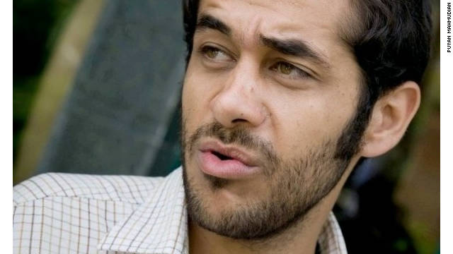 """Iranian student Puyan Mahmudian says he was arrested while a student: """"I spent more than 50 days in solitary confinement."""""""