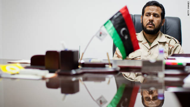 Abdul Hakim Belhaj, commander of the Tripoli Military Council, pictured during an interview in September 2011.
