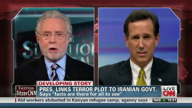Santorum: Iran must not have nukes