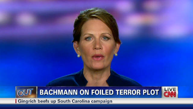 Bachmann says Obama weak on Iran