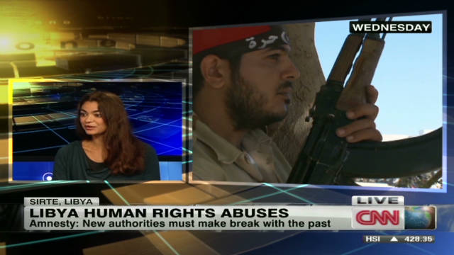 Fighting for human rights in Libya