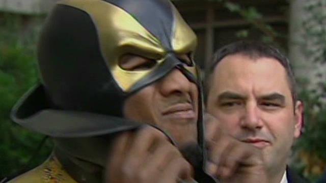 Seattle superhero unmasked