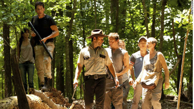 """The group continues to battles for survival in season two of AMC's """"The Walking Dead."""""""