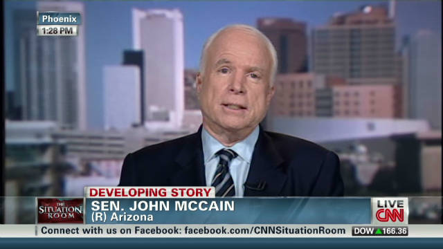 McCain: Iran's 'patterns' require action
