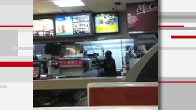 Police: McDonald's cashier beat customers