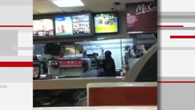Police: McDonald's cashier beat customers