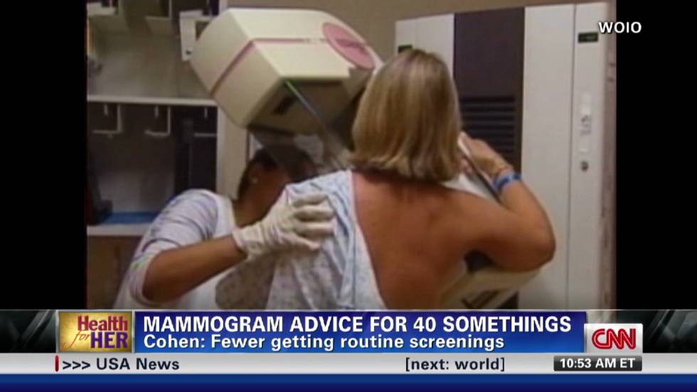 When is right time to get mammogram?