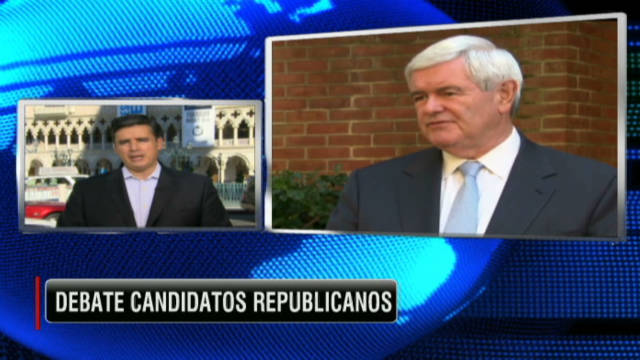 CNN Espanol: Republicans square off in Las Vegas debate