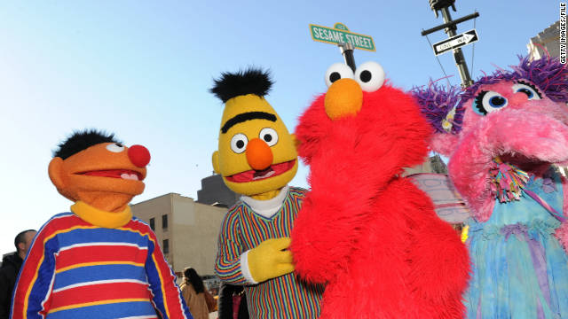 "Hackers commandeered the YouTube page of the ""Sesame Street"" children's show Sunday, adding pornographic videos."