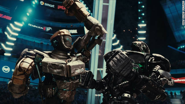 """Real Steel"" punched up an estimated $16.3 million this weekend."