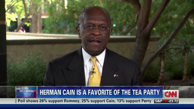 Herman Cain: I'm an outsider