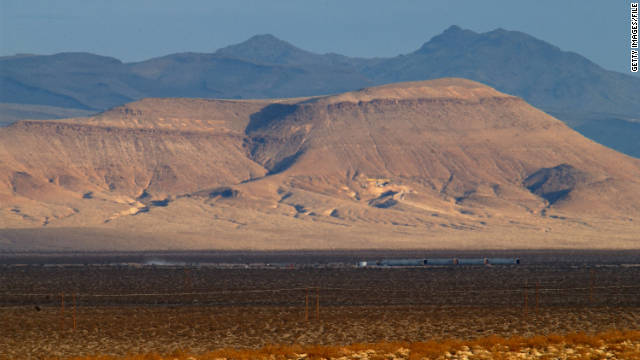 Yucca Mountain, a two-hour drive from Las Vegas, was the proposed site of the nation's nuclear waste repository.