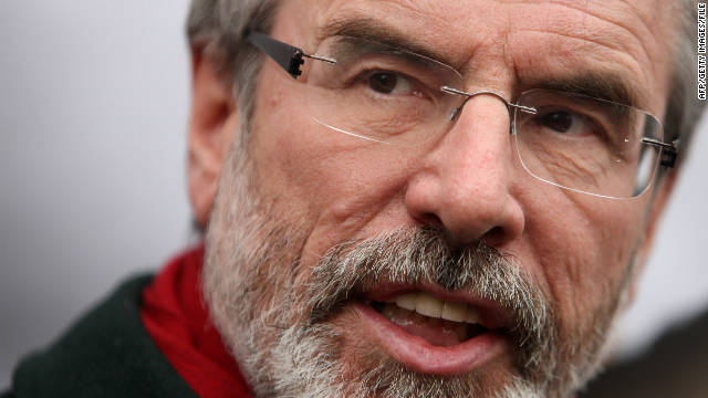 Gerry Adams questioned by police