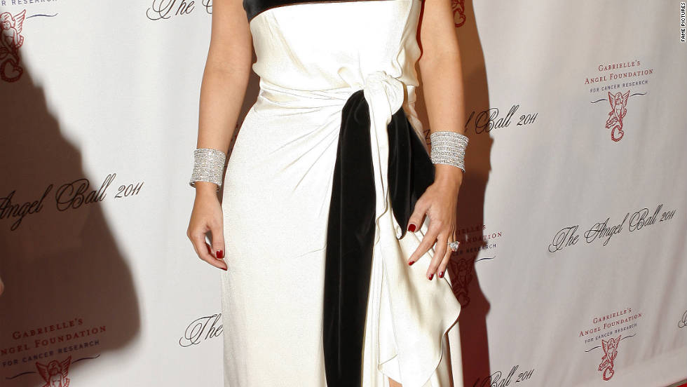 Kim Kardashian attends the Angel Ball in New York City.