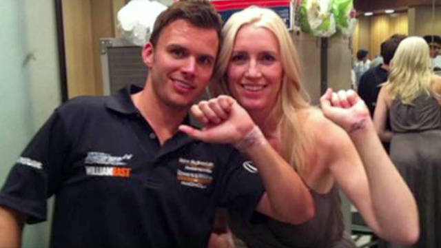 Wheldon, wife got tattoos before crash