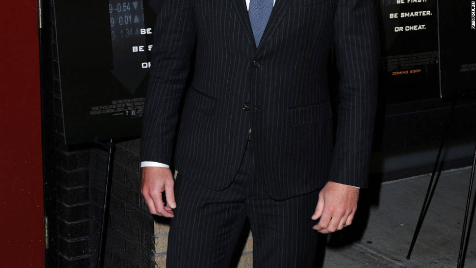 "Simon Baker attends the ""Margin Call"" premiere in New York City."