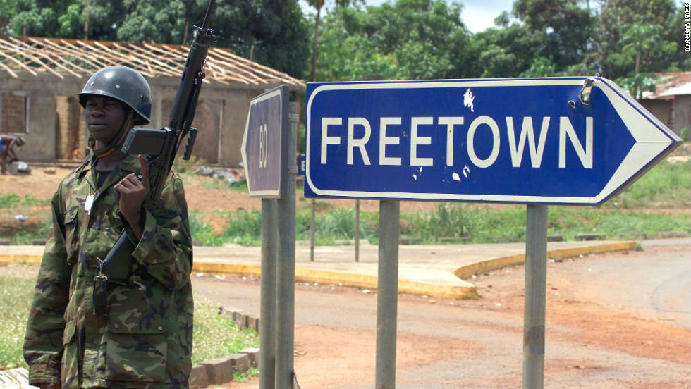 Sierra Leone was brought to its knees by a decade-long civil war that ended in 2002.
