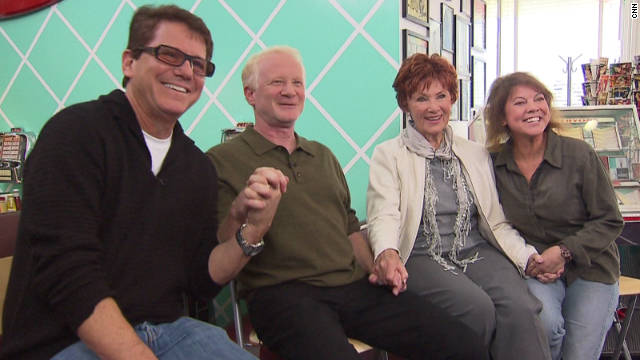 """Happy Days"" stars Anson Williams, Don Most, Marion Ross and Erin Moran are suing CBS for merchandise money."