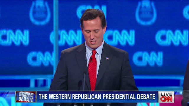 Candidates introduce themselves to Vegas