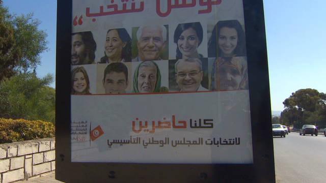 Tunisia prepares for landmark vote