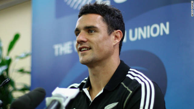 Flyhalf Dan Carter was part of the New Zealand team which lost to France in the 2007 quarterfinal.