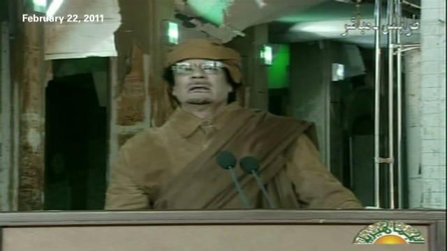 Gadhafi's quest toward martyrdom
