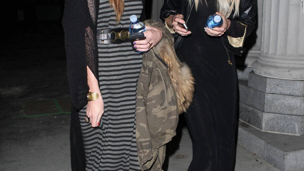 Daveigh Chase dines in Hollywood.