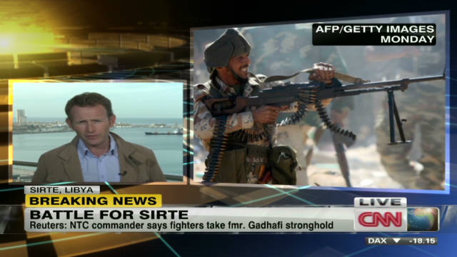 NTC commander claims Sirte victory