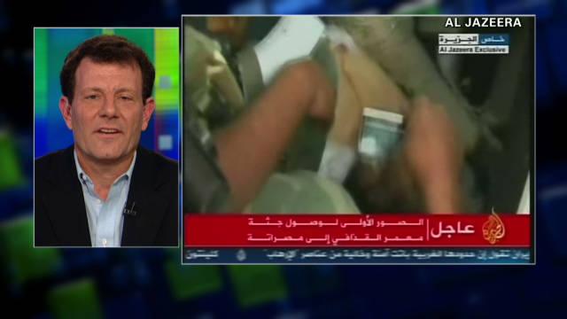 Columnist: Gadhafi death a huge milestone