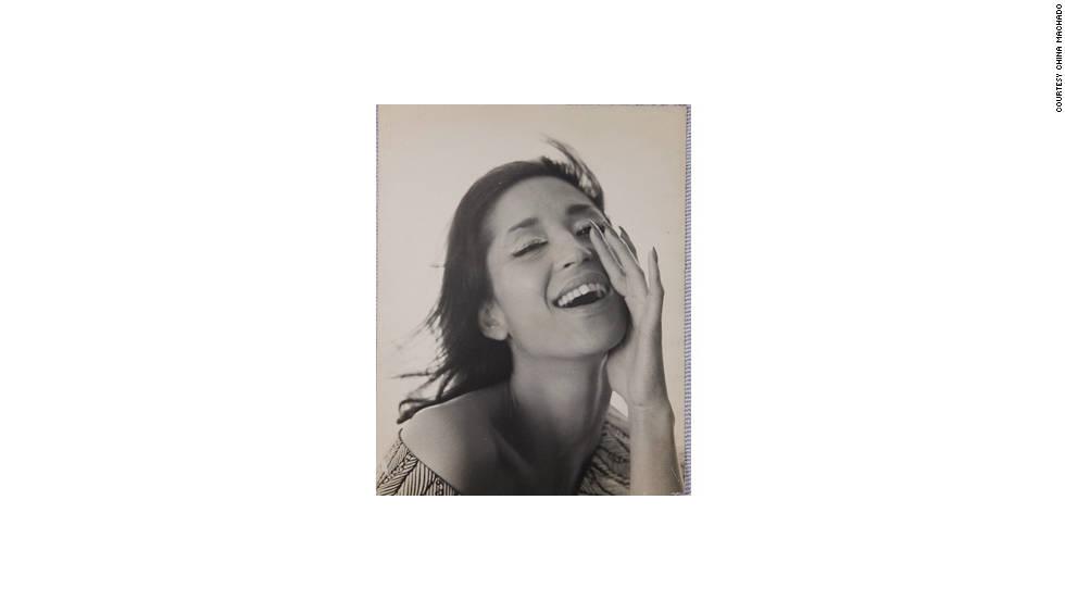 China Machado started her modeling career in Paris back in 1954.