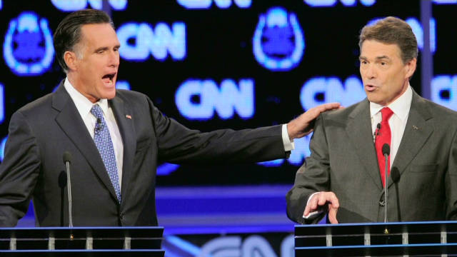 Decoding body language at GOP debate