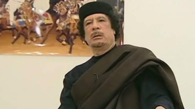 Moammar Gadhafi's body displayed in Libya
