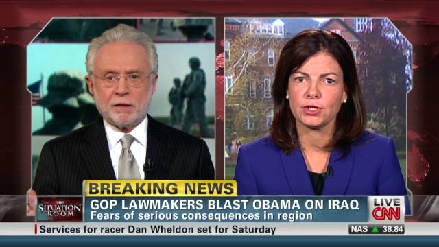 GOP lawmakers blast Obama on Iraq