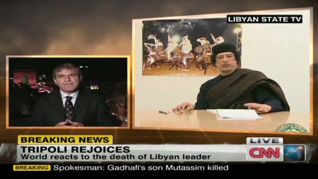 'End of an era' after Gadhafi's death