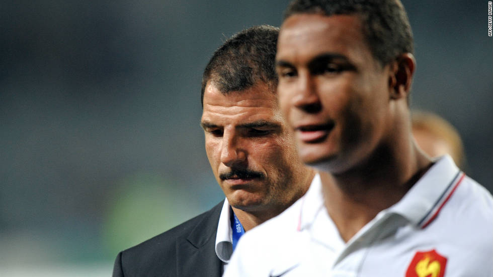 France coach Marc Lievremont and his captain Thierry Dusautoir reflect on their World Cup near miss