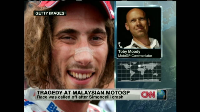 World mourns Simoncelli death