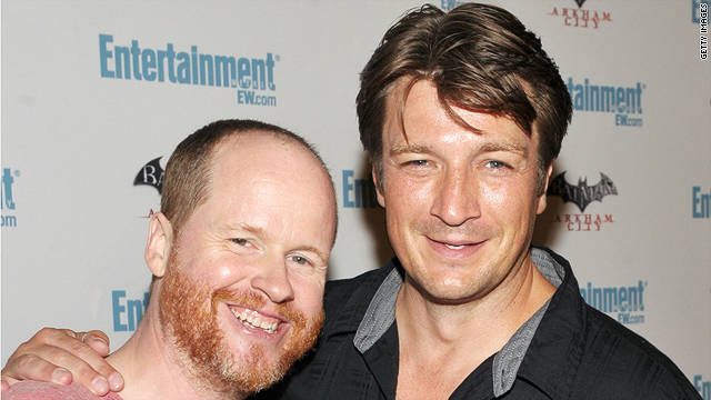 """Firefly"" director Joss Whedon and actor Nathan Fillion, among others, plan to attend the show's 10-year anniversary panel."