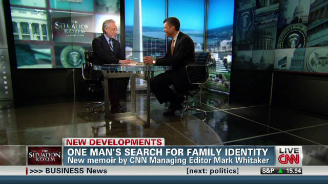 Mark Whitaker: One man's search for family identity