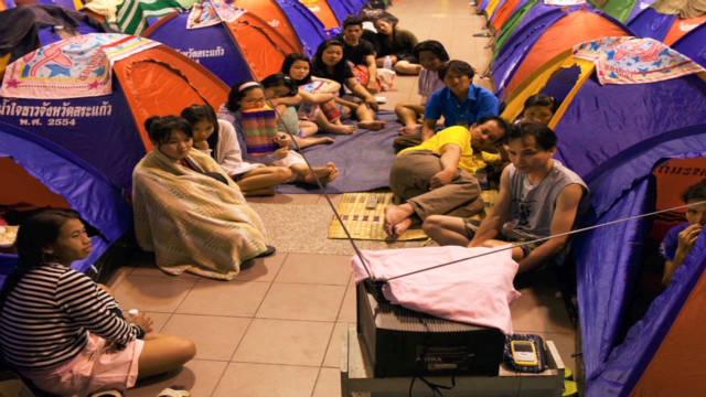 Bangkok residents urged not to panic