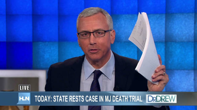 Dr. Drew's frustration over MJ care