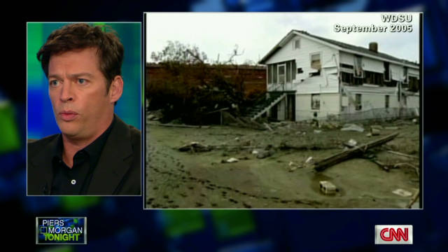 Harry Connick on Katrina devastation