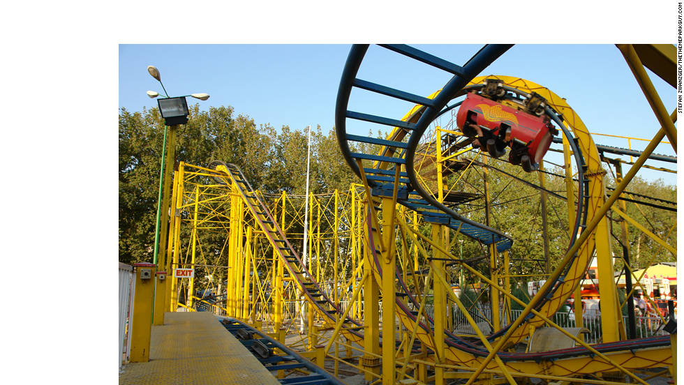 According to Zwanzger, Eram Park's soda can-themed roller coaster leaves a lasting pain in the neck.