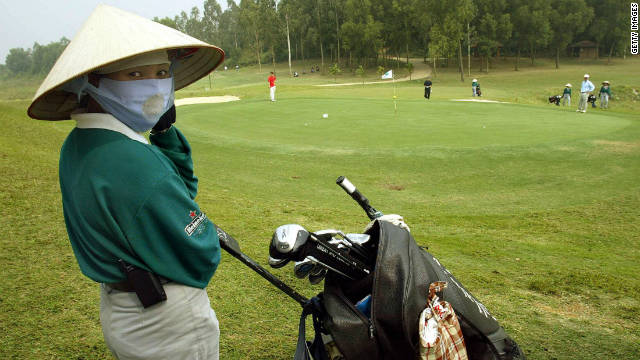 Senior officials have been banned from playing golf amid fears they are spending too much time on the golf course.
