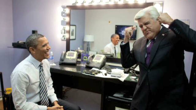 Obama appears on 'The Tonight Show'