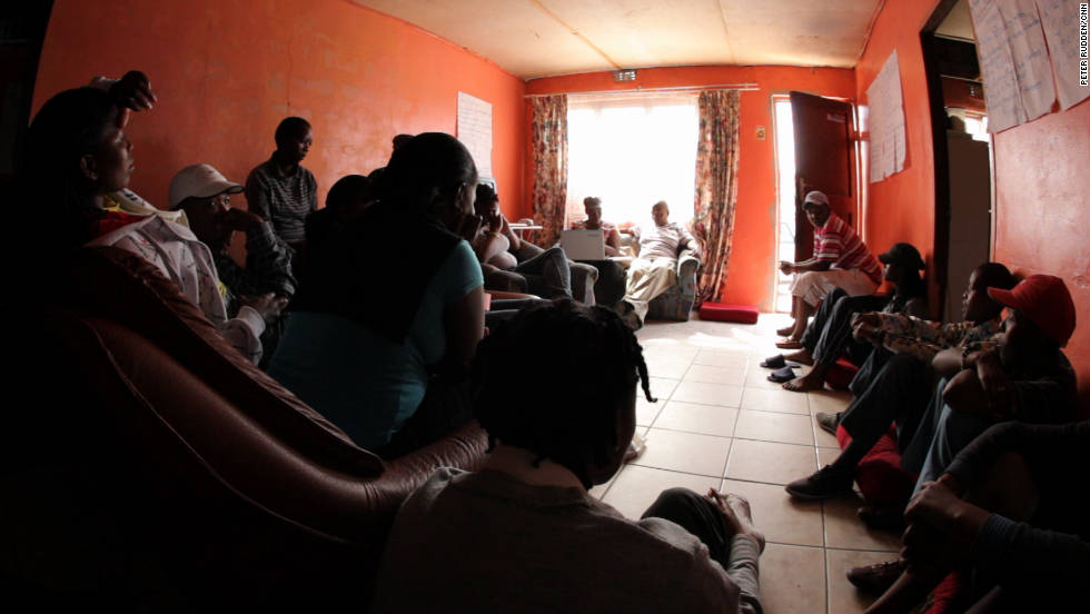 Soldaat's home in Khayelitsha, has become a sanctuary for lesbians escaping abuse from their other residents. It's also become a meeting place for activists pushing to make corrective rape a hate crime.