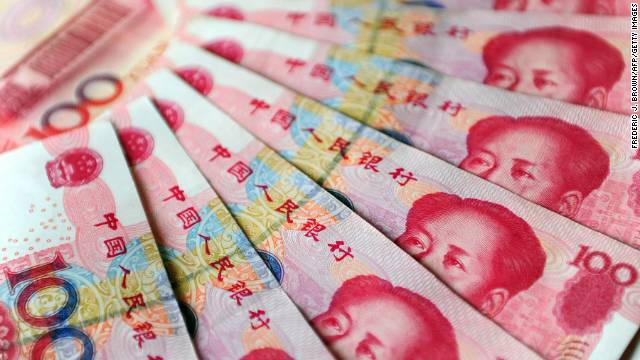 Chinese central bank officials suggested the renminbi is no longer significantly undervalued, citing the country's large trade deficit in February.